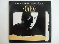 OLIVIER ANGELE : OYEZ ♦ CD Single Promo ♦
