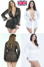 Lace Robes Short Kimono Nightwear for Women