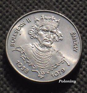 COIN OF POLAND - POLISH MONARCHS - KING BOLESLAW II SMIALY