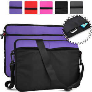Universal 12 - 13 Inch Tablet Sleeve and Shoulder Bag Case Cover 2-in-1 NDR2-1
