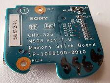 Sony Vaio PCG-7D1M VGN-FS315S - Memory Stick tablero 1P-1056100-8010 CNX-336 -856