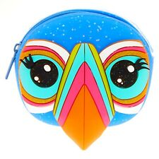 Tilly the Toucan Jelly Coin Purse Glitter Change Purse Wallet 3D Eyelashes Nose