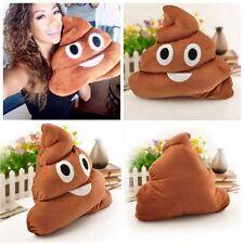 25cm Cute Emoji Emoticon Poop Cushion Plush Soft Stuffed Cushion Pillow Poo Gift