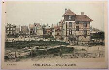 CPA Le Touquet Paris-plage - Groupe de Chalets #c344