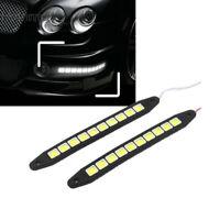 2 x Flexibles 10 LED COB Auto Tagfahrlicht Tagfahrlicht Blinker Licht 10W Weiß