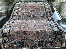 Auth:  19th C Antique Sarougk Farhan Rare Elegant  Collectors Beauty No Reserve
