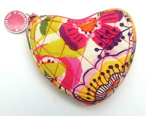 Vera Bradley Sweetheart Coin Purse Clementine Limited Edition Pink Floral