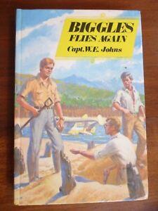 BIGGLES Flies Again, Captain W. E. Johns  Dean & Son HB