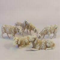 Pecore 6 soggetti Moranduzzo Landi 8 cm | Presepe Personaggi Statuine