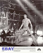 John Travolta barechested VINTAGE Photo Staying Alive