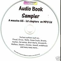 Massive Sampler of 1st chapters - audio book Mp3 CD