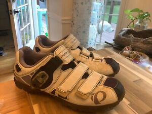 White And Purple pearl izumi womens cycling shoes 2-bolt Size 43