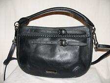 BURBERRY Schultertasche Tasche WALTHAM SMALL SHOULDER BAG Leder schwarz NEU