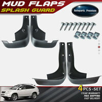 NEW 4pcs Front and Rear Splash Guard Mud Flaps for Lexus RX330 RX350 2004-2009