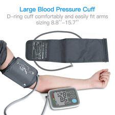 Automatic Digital Arm Blood Pressure Monitor BP Cuff Machine Home Test Device