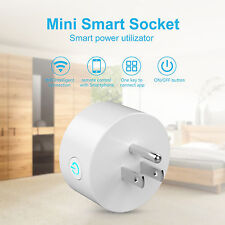 WiFi Smart Phone Remote Control Timer Switch Power Socket Plug App Voice Control