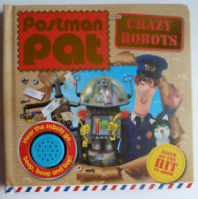 Postman Pat The New Sound Books  Fun time Sounds Crazy Robots, NEW!!!