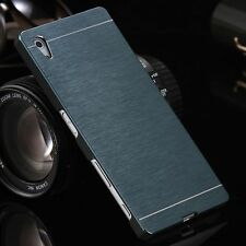 Ultra Slim Thin Metal Aluminum Brushed Hard Back Case Cover Skin For Sony Phone