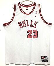 Nike 1984 Michael Jordan Blanco 8403 Chicago Bulls Cosido 3XL Jersey de  hombre vintage f883a15de36