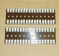 2 x 36 way Solder Tag Terminal Strip on Paxolin / Bakolite Board (2 Strip)
