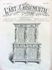 L'art Ornemental revue décoration du 2 Février 1884 n°53 deuxiéme année
