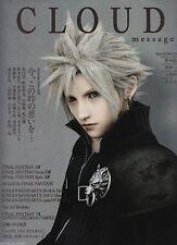 Cloud message Final Fantasy 7 VII Japan Square Enix Promotional Book