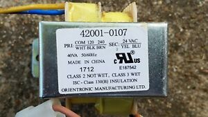 Pentair Mastertemp 400 pool heater 42001-0107 transformer 120-240v