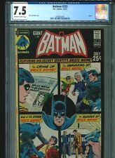 Batman #233 CGC 7.5 (1971) Giant 64 Pages Dick Giordano Cover