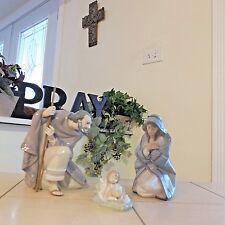 LLADRO NATIVITY ST. JOSEPH 5476 MARY 5477 & BABY JESUS 5478 MINT BOXES FAST SHIP