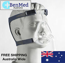 *NEW* DeVilbiss CPAP Full Face Mask and Headgear for Sleep Apnea - Size LARGE