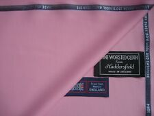 "SUPER 150's WOOL & CASHMERE SUITING FABRIC in ""Lavender Pink/Cotton Candy""- 4.2m"