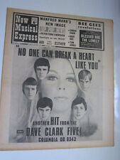 NME 2/24/68 Dave Clark Five Bee Gees Manfred Mann Move Monkees Sandie Shaw