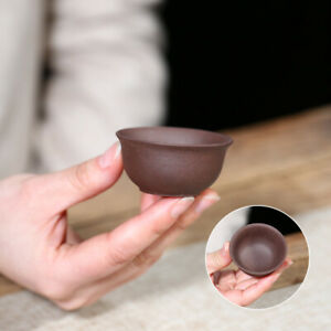on sales one tea cup yixing zisha purple clay cup 30ml Chinese kungfu cup of tea