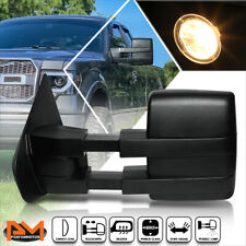For 04-14 Ford F150 Power+Heated+Led Signal+Puddle Lamp Side Towing Mirror Left