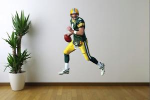 Brett Favre Green Bay Packers Fathead Style Wall Decal Sticker