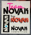 Vintage 90s Team Novak RC Car Sticker 2.5 x 3