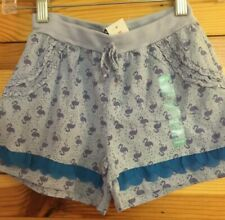 NWT Naartjie Girls Purple Vista Flamingo Shorts Size 5
