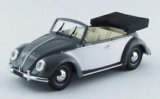 Volkswagen VW Cabrio Karmann 1949 Grey / White 1:43 Model RIO4435 RIO