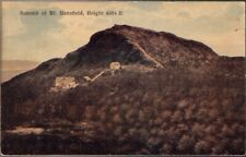 (11i8) Postcard: Summit of Mt. Mansfield