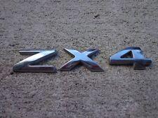 02-06 Ford Focus ZX4 Rear Trunk Logo GAPN4940 Emblem Nameplate Decal Sticker Set