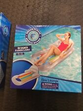 "Bestway Designer Fashion Lounger Inflatable Swimming Pool Lounge 62"" x 35"" 43028"