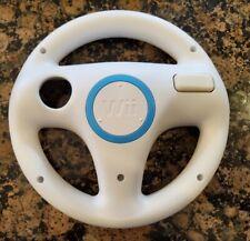 Genuine White Nintendo Wii Steering Wheel Controller Mario Kart OEM (RVL-024)