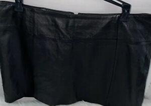 wilsons leather mini skirt size 10 Vintage