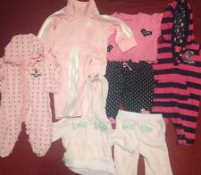 Lot Of Baby Girl Clothes Size 0-3M