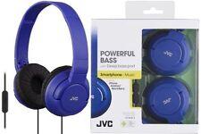 Auricolari e cuffie blu con cavo audio portatile