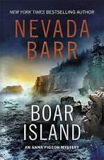 (Very Good)-Boar Island (Anna Pigeon Mysteries, Book 19): A suspenseful mystery