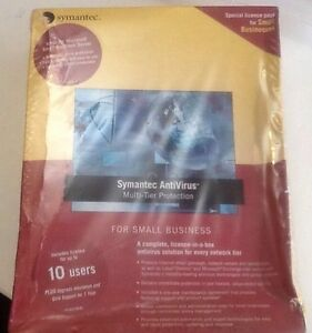Symantec SMB R2 10 user Retail Box Full