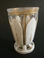 RS0918-180: Jugendstil Glas weiß überfangen
