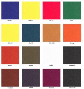 Furniture Clinic - LEDER FARBEN SET - 16 Basisfarben zum mischen