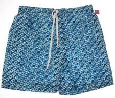 Merona Mens Swim Board Shorts sz XL 40-42 Blue Mesh Brief Lined Trunk